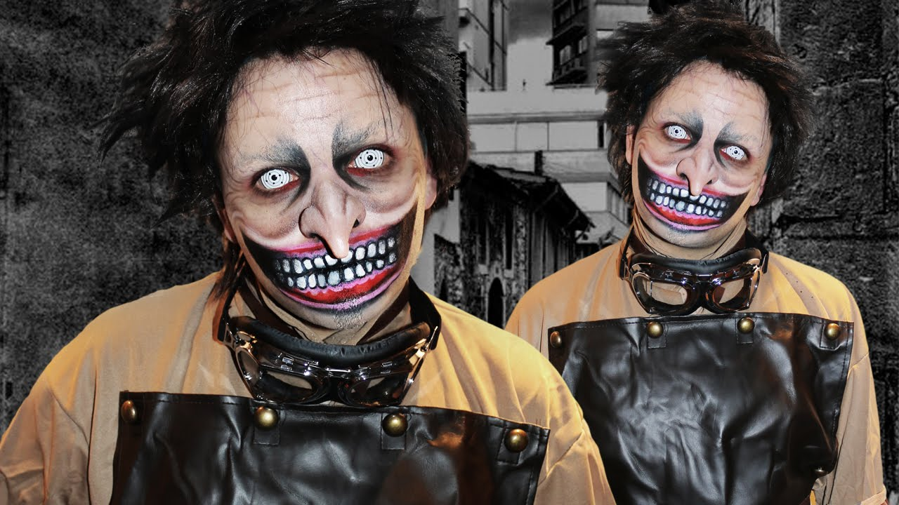 The Mad Scientist - Mr Hyde! - Makeup Tutorial! - YouTube