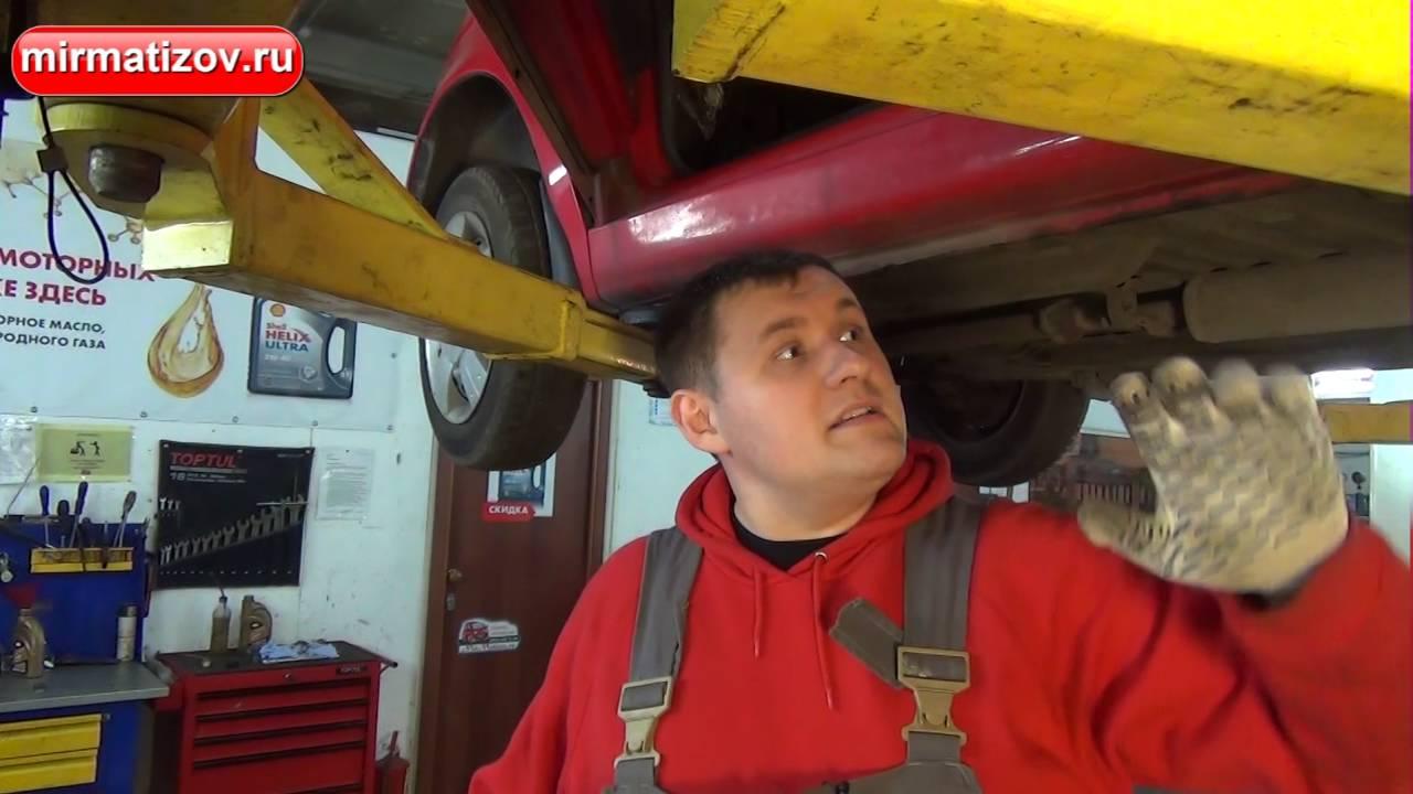Daewoo Matiz - Замена спидометра в приборной доске. - YouTube