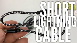 Really Short Apple Lightning Cables