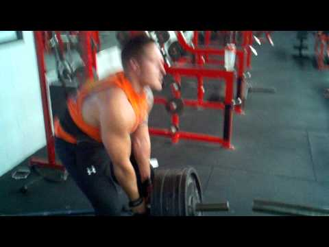 Steve Alatorre back workout
