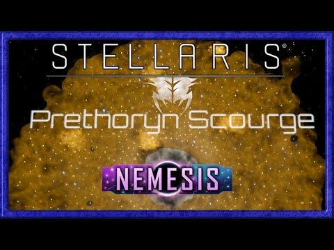 Stellaris Nemesis: The Prethoryn Scourge slaughter the galaxy!  