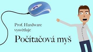 Počítačová myš - profesor Hardware (výukové video)
