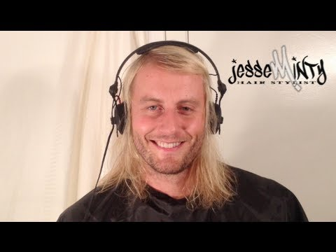 Mens Long Fine Hairstyle Tutorial Jesseminty Com Youtube