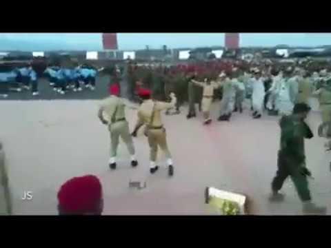 Pak Forces Dancing on Bibi Shirini Song