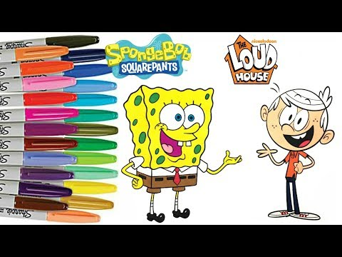 - The Loud House Coloring Book Compilation Wintertime Lisa Lana Lola Lincoln  Luan SPRiNKLED DONUTS - YouTube