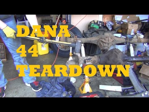 DANA 44 Rebuild | SAS Swap | 4x4 Overland Truck Project Part 3