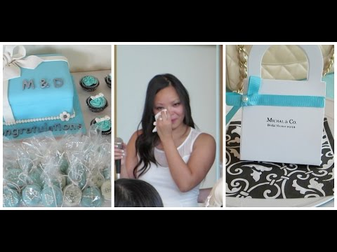 BREAKFAST AT TIFFANY'S THEMED BRIDAL SHOWER - VLOG36 SodasWorld