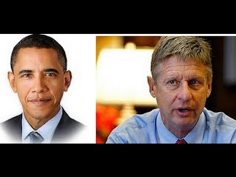 Libertarian Caller OWNED in Voting Obama vs. Gary Johnson Debate