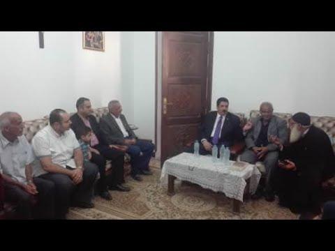 الوطن المصرية:محافظ القليوبية يقدم واجب العزاء في مواطن بكنيسة خلال جولة مفاجئة