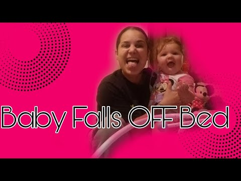 Baby Falls OFF Bed Prank | JADE CRIES!
