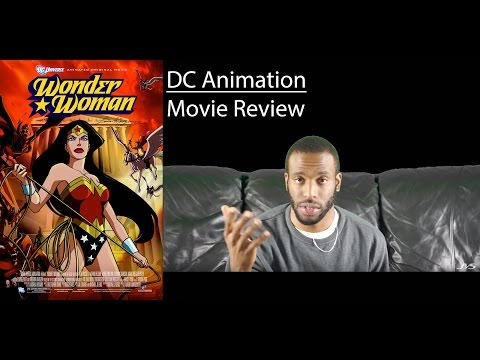 Wonder Woman (2009) DC Animation - MOVIE REVIEW