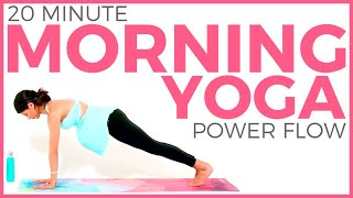Morning Yoga | Power Yoga for Toned Abs, Arms & Legs (20 minutes)