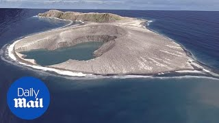 Eruption From Submarine Volcano Creates New Island In The South Pacific