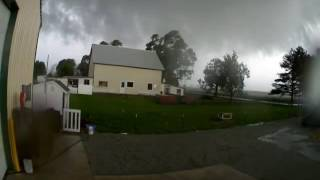 Hehr Farms 500 N 500 W Tornado Kokomo Howard Co, In 24 Aug 2016