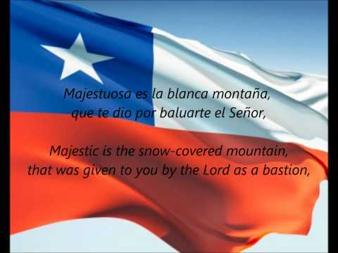 "Chilean National Anthem - ""Himno Nacional De Chile"" (ES/EN)"