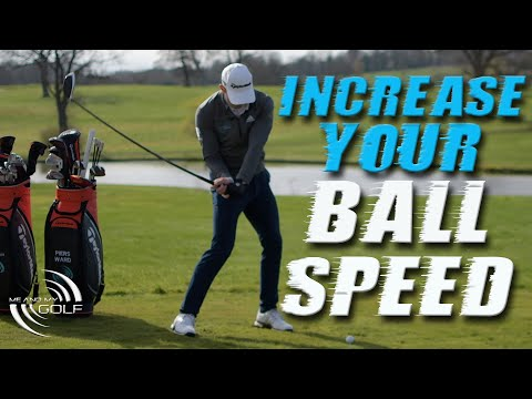 INCREASE YOUR BALL SPEED WITH THESE 2 GOLF SWING DRILLS | ME AND MY GOLF
