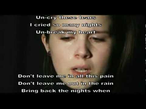 Celine Dion-Unbreak My Heart  Lyrics