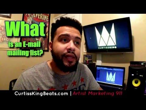 Rapper Marketing 911 - Every Rapper Needs An E-Mail List