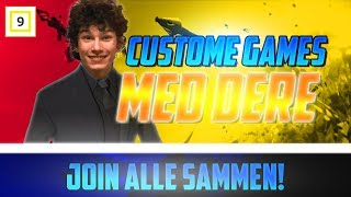 Absolutely usual Custom Games Join all together-Creator Code-DavidKielland-Norsk Fortnite Stream