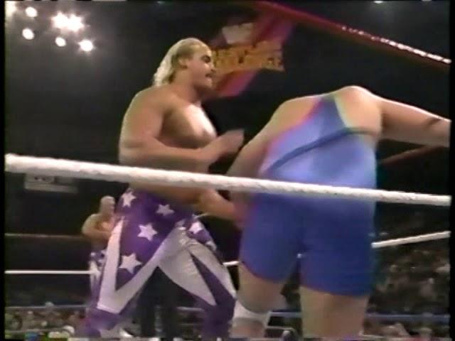 Beverly Brothers vs. Bill Koby & Brett Tyler (1992-12-13)