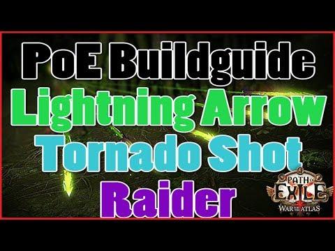 [3.5] Path of Exile Buildguide - Tornado Shot / Lightning Arrow Raider - Budget/Anfänger [Deutsch]