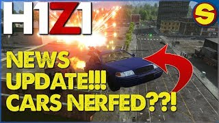 PS4 H1Z1 UPDATE: VEHICLE NERFS AND BUFFS?? NEW LIGHTING CHANGES!