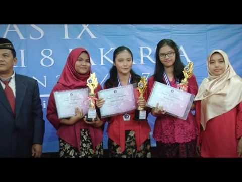 Pelepasan Siswa SMP Negeri 8 Jakarta 3 Juni 2017 Part 02