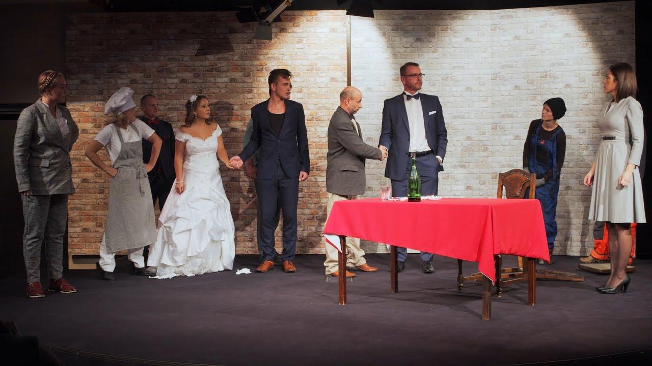 Staniątecka Grupa Teatralna przedstawia Zemstę Aleksandra Fredry