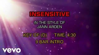 Jann Arden - Insensitive (Karaoke)