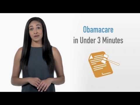 How Does Obamacare Work (In UNDER 3 Minutes) from YouTube · Duration:  2 minutes 33 seconds