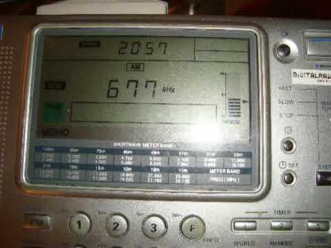 677 kHz – National Radio Libya 89.3 FM, Benghazi (Libya)