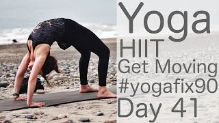 Yoga HIIT Let