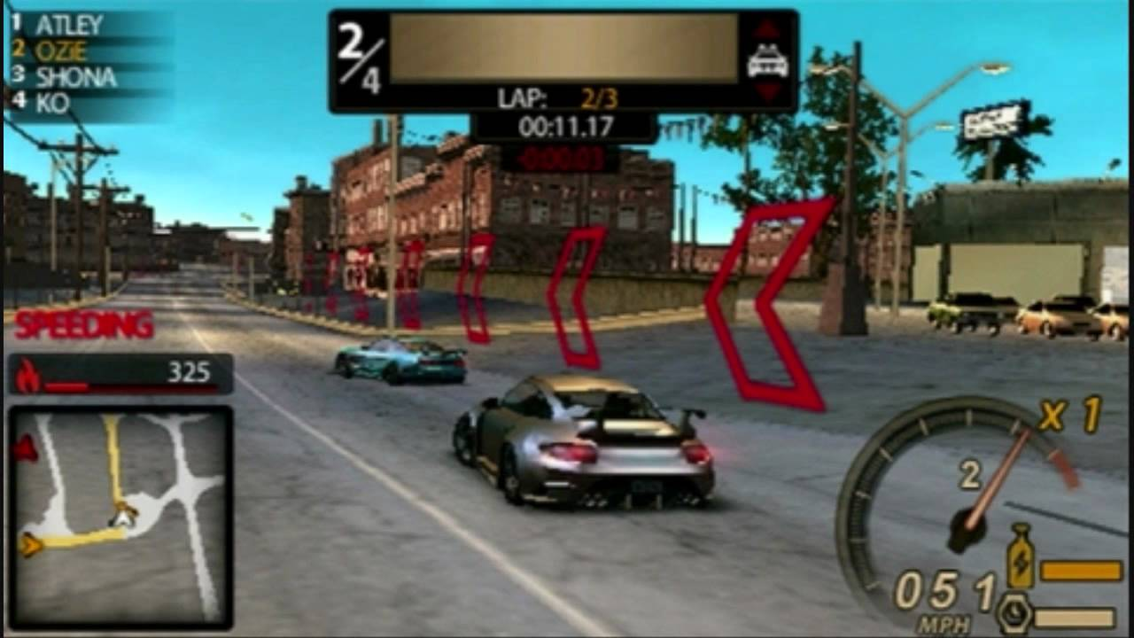 Need for Speed Undercover Psp Review - YouTube