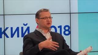 Владимир Рыжков с предпринимателями Омска.