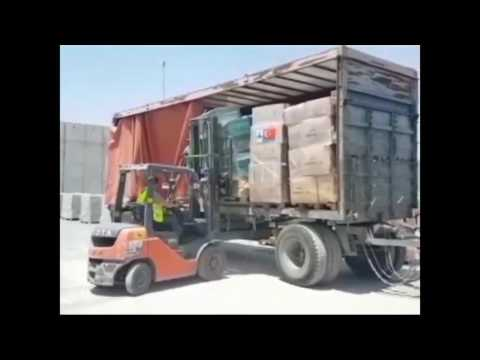 Aid from Turkey arrives at Gaza border