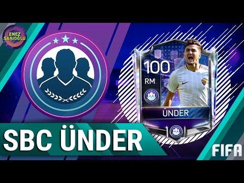 100 GEN SBC CENGİZ ÜNDER ALDIK! İLK SBC OYUNCUSU! FIFA MOBILE 18