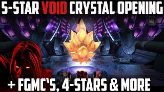 VOID 5-Star Featured Crystal Opening + FGMC's & MORE! - Marvel Contest of Champions