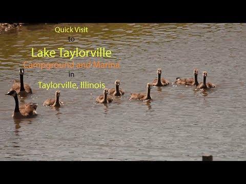 Quick Visit To Lake Taylorville In Taylorville Illinois