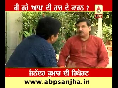 In conversation with Sanjay Singh about reasons for defeat of AAP in Punjab
