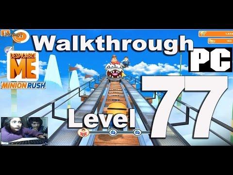 Desipcable Me Minion Rush Level 77 Walkthrough