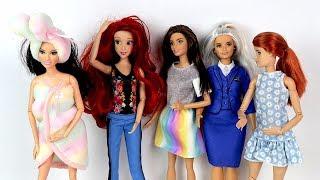 КАКОЙ НАРЯД ЛУЧШЕ? Одежда для Кукол Барби Одевалки Игрушки для девочек