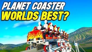 WORLDS BEST ROLLERCOASTER?! (Planet Coaster Biggest Park #6)
