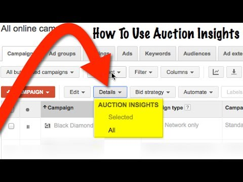 Spy On Adwords Competition With Auctions Insights