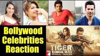 Bollywood Celebrities Reaction On Tiger Zinda Trailer | Salman Khan, Katrina Kaif | Tiger Zinda Hai