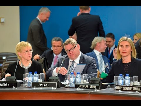 North Atlantic Council with Sweden, Finland and the EU, Foreign Minister Meetings, 20 MAY 2016