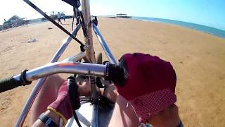 Land sailing  in Element watersports, EL GOUNA, Egypt 5.06.2018