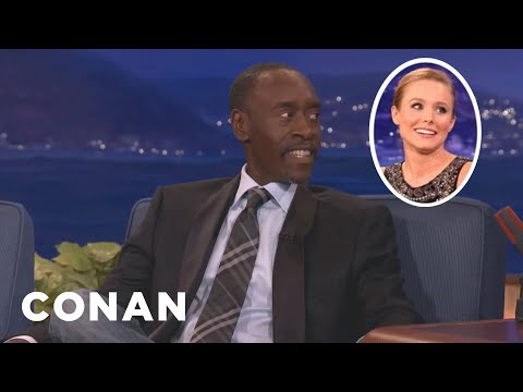 "Don Cheadle: Kristen Bell's ""Frozen"" Success Has Gone To Her Head"