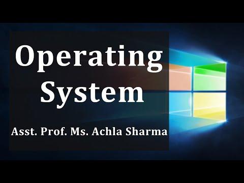 Operating System  (B.Tech. V sem, BCA, MCA), Gurukpo