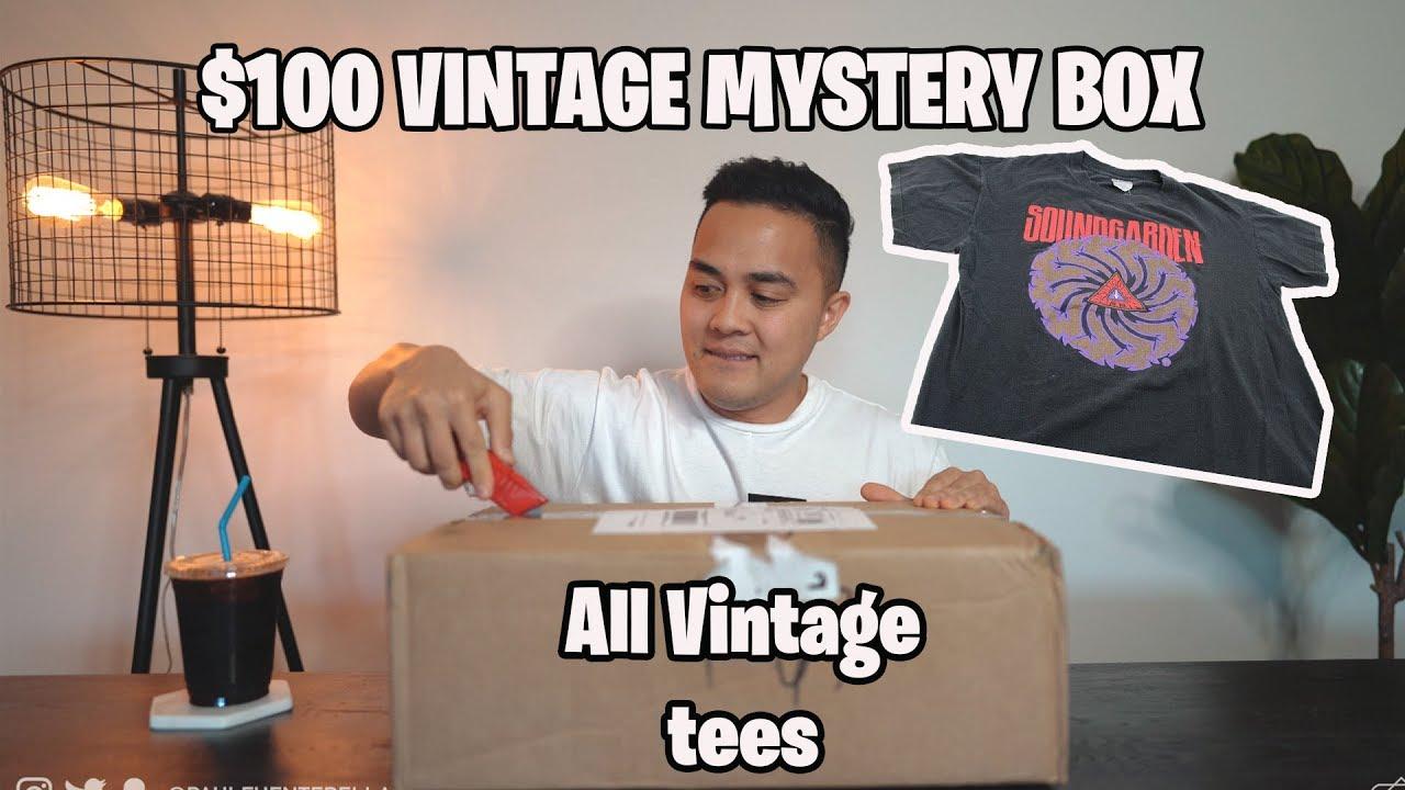 $100 Vintage Mystery Box (ALL VINTAGE TEES) Worth it?