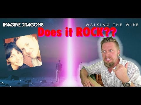 Imagine Dragons - Walking The Wire (Audio) REACTION VIDEO!!!